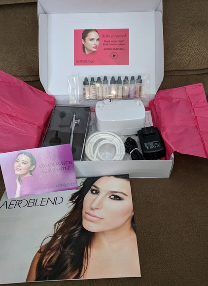 Aeroblend Makeup Airbrush Kit Poshmark